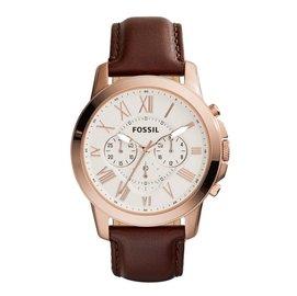 FS4991 C.P.Max 店面  FOSSIL手錶 44mm 手錶 皮帶 玫瑰金 中性