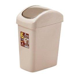 POLYWISE BI~5864 6L天王星搖蓋紙林 搖蓋式垃圾桶 廁所用