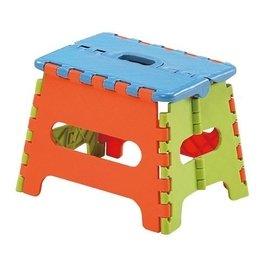 POLYWISE BI~5852 18公分止滑摺合椅 摺疊椅 收納方便 繽紛色彩