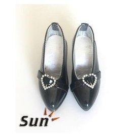 女款1 3 BJD SD娃娃鞋子 3分娃用尖頭小高跟 皮鞋~~YG066