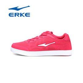 包郵erke鴻星爾克女鞋專櫃正品 款透氣耐磨網球鞋12113212388