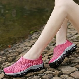 戶外溯溪鞋女鞋涉水鞋透氣網布鞋沙灘鞋水陸兩棲鞋防滑鞋男女鞋