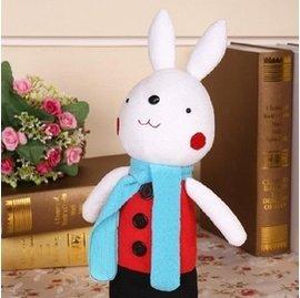 布藝布偶玩偶兒童玩具娃娃公仔 制作 diy材料包兔子 情侶款