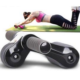 折疊健腹輪家用多 健腹器雙輪軸承滾輪三輪靜音 腹肌輪DL5048