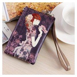 奧麗薇零錢包2014 正品女 卡通可愛奧莉薇手機包鑰匙包手包