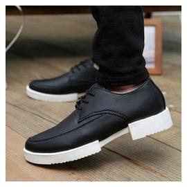 男鞋子 透氣男士 鞋青年潮流帆船鞋商務 小皮鞋