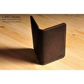 CIMO 西盟  真皮名片 意大利乾性油皮 證件夾 悠遊卡  制作
