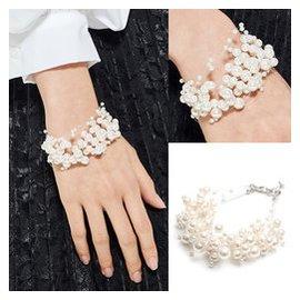 ^^^^ 愛不釋手你的美點點珍珠鑲嵌百搭漂亮手鏈