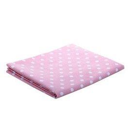 蒂樂 嬰兒床笠嬰兒床單寶寶床單床罩純棉全棉床墊套床品嬰兒床床笠 600 粉色 小號 120