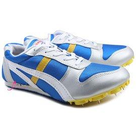 包郵超輕跑釘鞋 釘子鞋田徑跑步鞋男女款短跑 訓練 中考 鞋