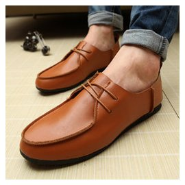 男鞋子英倫豆豆鞋男士 鞋復古小皮鞋帆船鞋林彎彎潮鞋