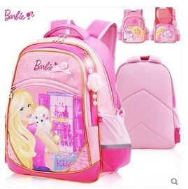 芭比書包女童小學生1~3壹年級兒童書包娃娃減負雙肩背包公主 2