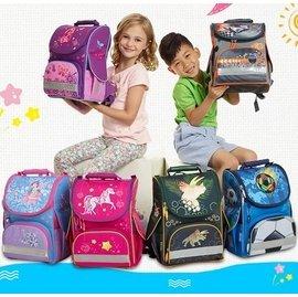 Tigerfamily兒童書包 小學生1~3年級女男6~10歲小學生護脊輕雙肩