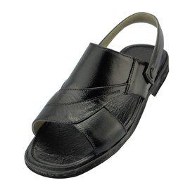 大碼男涼鞋44~48碼牛皮沙灘鞋特大號真皮涼鞋45碼46碼47碼涼拖鞋
