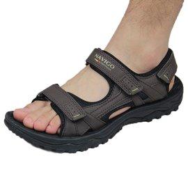 2016正品越南鞋NAVIGO 男涼鞋戶外 沙灘男士大碼鞋 男款皮涼鞋