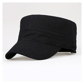 帽子 戶外平頂帽 男帽遮陽帽子全棉男士軍帽男帽女帽鴨舌帽
