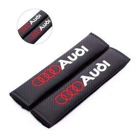 audi奧迪A4LA6L Q5 Q7 A8L A3 Q3安全帶護肩 安全帶護套 皮革護肩套