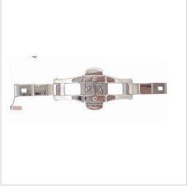 手表配件 钨钢陶瓷表带连接扣 蝴蝶扣 不锈钢表扣 6.、5、4mm