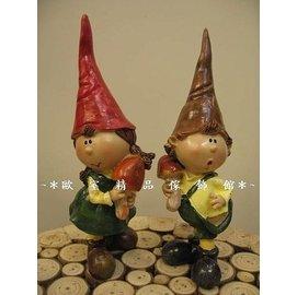 ^~~歐室 傢飾館~^~可愛 森林 尖帽 娃娃擺飾^(一組2入^)^~ 上市^~