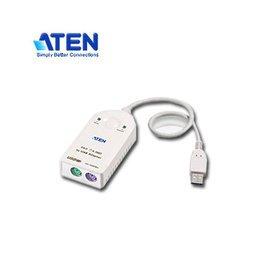 ~MR3C~含稅附發票 ATEN宏正 UC100KMA USB to PS 2 轉接線 ^
