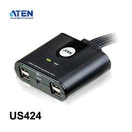~MR3C~含稅附發票 ATEN宏正 US424 4埠USB切換器  USB 2.0