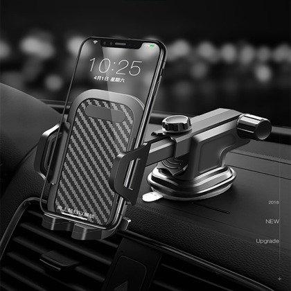 ~能吸中控台,玻璃,二用型支架~車載手機支架 汽車用 出風口 吸盤式手機座 導航儀錶台手機