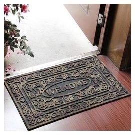 進門 橡膠地墊 門墊 光臨大門口防滑地毯 門廳蹭