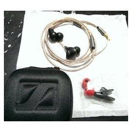耳机评价参考 IE80线控耳机,IE7机壳。Iphone HTC Sony Samsung适用