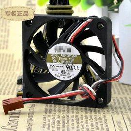 6010 12V 0.15A 6CM 釐米 雙滾珠 3線CPU機箱風扇 F6010B12M