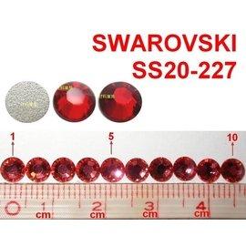 72顆 SS20 227 大紅 明亮紅 Light Siam 施華洛世奇 色鑽 水鑽 貼鑽