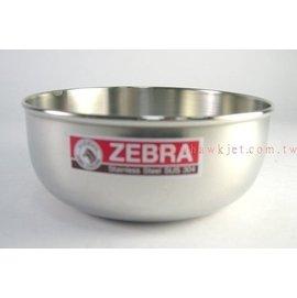ZEBRA 斑馬牌 ~ 14cm 調理碗D~2B14 ~ 304不鏽鋼  無蓋  一般型