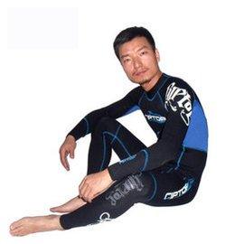 賽雷克斯男女同款3長袖潛水服保暖防曬超彈耐磨衝浪保暖防曬水母衣 情侶裝男女同款