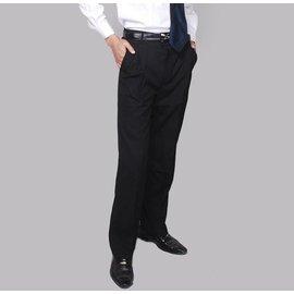 黑色褲子西褲西服套裝男褲 有加大碼男士工作褲職業裝 長褲直筒自