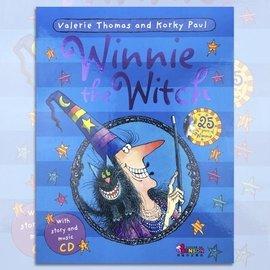 邦森外文書  Winnie The Witch 25th Book  CD 巫婆阿妮和黑
