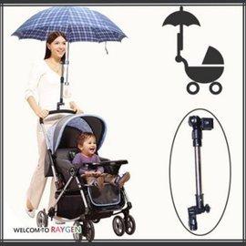 多 嬰兒手推車 遮陽雨傘支架~2A290Y096~