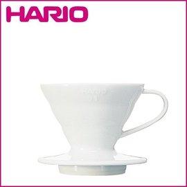 ~北歐 ~HARIO V60 白色陶瓷咖啡濾杯 1^~2杯用 VDC~01W 高雄可面交