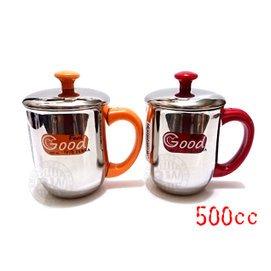 2059 居家館_ZEBRA斑馬牌雙層不鏽鋼嘟嘟杯500ml~單入~㊣304不�袗�茶杯子