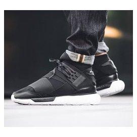 Adidas Y~3 QASA High Yohji Yamamoto 2016ss 黑白