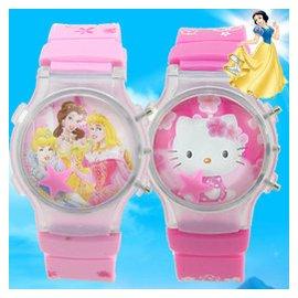 迪士尼兒童手表女孩防水夜光可愛韓國男孩寶寶卡通女童學生電子表