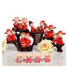 悠韻淡雅 送朋友新婚  婚慶 家居裝飾品擺件擺設結婚 4款 恩恩愛愛 根雕架 小豬