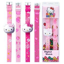 生日新年 玩具男孩凱蒂貓兒童手表女孩女童電子卡通手表幼兒園
