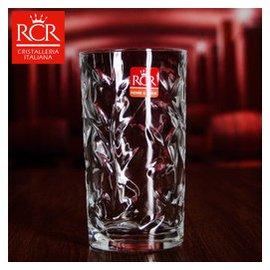 意大利 水晶水杯高杯果汁杯啤杯無鉛水晶杯辦公杯花茶杯飲料杯耐熱水杯 葉紋250