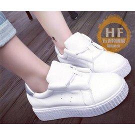 厚底鞋 春秋 休閒鞋女板鞋厚底鬆糕鞋小白鞋學生女鞋潮單鞋子