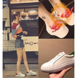 厚底鞋春 休閒小白鞋女 鞋白色板鞋平底厚底百搭單鞋