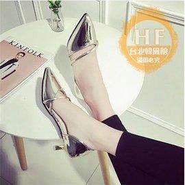 低跟鞋 女鞋子低跟單鞋女春夏尖頭淺口細跟 涼鞋平底百搭舒適