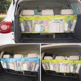 休旅車汽車用後座 超大容量雜物收納袋 車載椅背袋