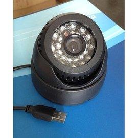 免主機免傳輸線、循環錄影 紅外線夜視安防監視器攝影機 獨立插卡式 監視器^(490元^)