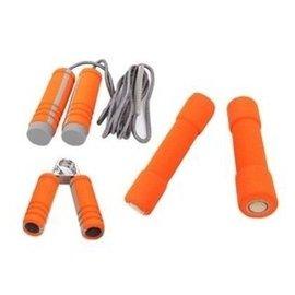 凱速 啞鈴跳繩握力 跳操有氧健身套裝 女士跳操啞鈴 18 橘色