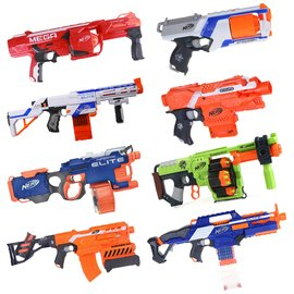 孩之寶NERF熱火精英系列玩具槍軟彈槍狙擊槍玩具多款選A0710