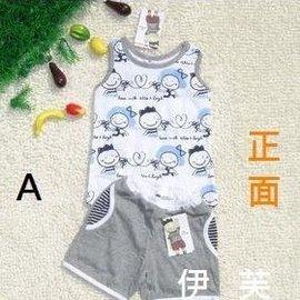 韓國品牌 allo  lugh 男童 洋蔥頭 背心 套裝 90~130cm 120元